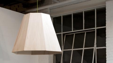 Lamp populier-triplex